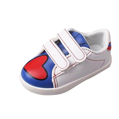 Ouneed® Krabbelschuhe , 12-36 Monate Weibliche Schuhe Prinzessin Kleinkind Schuhe Tendon weiche Unterseite Blau