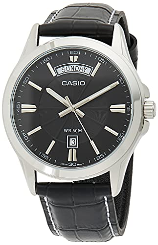 Casio Enticer Men Analog Black Dial Watch MTP 1381L 1AVDF  A844
