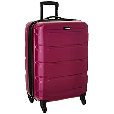 Samsonite Omni PC Hardside Spinner 24, Radiant Pink, One Size