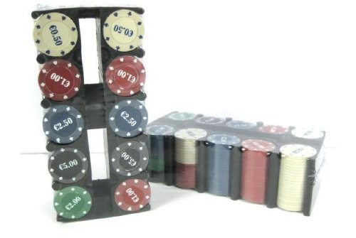Duesse-Poker 200 Fiches in Box New Lupex