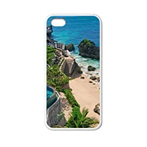 super shining day Cool Back Skin Tropical Resort for TPU Material Apple iPhone 5C