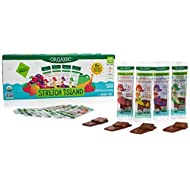 Stretch Island Organic Gluten-free Fruit Strips (48 count of Strawberry; Tropical; Mixed Berry; Apple Cinnamon)