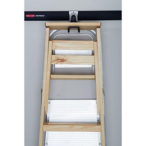 Kitchen Storage Ladder: Rubbermaid FastTrack Ladder Hook
