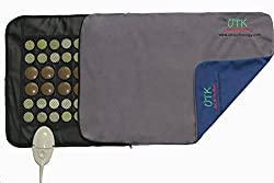 "UTK® Replacement - Washable Cover for UTK Far Infrared Heating Pad Small Pro Size (23.5""x16"") 100% Polyester Fiber"