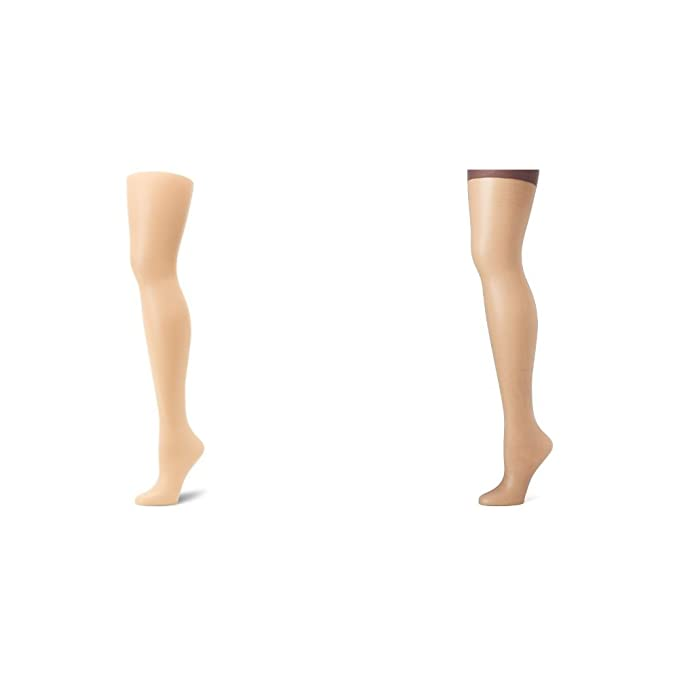 24b6e8b70 Hanes Women s Absolutely Ultra Sheer Control Top with Toe at Amazon Women s  Clothing store  Pantyhose