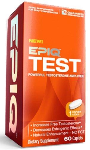 EPIQ - Essai puissant Testosterone Amplifier - 60 Caplets