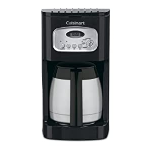 Cuisinart DCC-1150BKP1 Classic Thermal Programmable Coffemaker, 10-Cup, Black