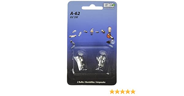 Amazon.com: Eiko A-62-BP G3-1/2 Miniature Bayonet Halogen Bulb, 6V: Home Improvement