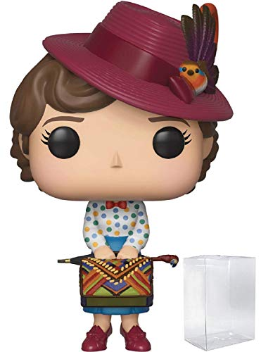 Funko Pop! Disney: Mary Poppins Returns - Mary Poppins with Bag Vinyl Figure (Includes Pop Box Protector Case)
