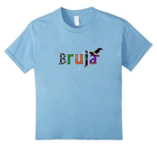 Kids Bruja Halloween T-Shirt - Witches in Spanish Costume Tee 8 Baby (Disfraz De Bruja Halloween)