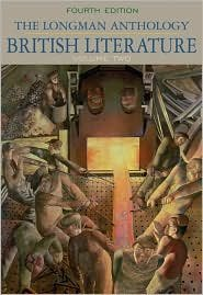Longman Anthology of British Literature, Volume II, The 4th (forth) edition Text Only
