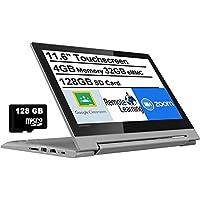 """2021 Newest Lenovo Flex 3 11.6"""" HD Touchscreen 2-in-1 Chromebook Laptop, MediaTek MT8173C Quad-Core CPU, 4GB RAM, 160GB…"""