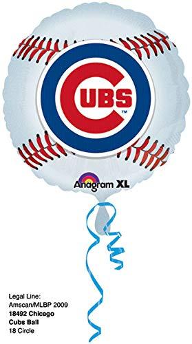 Anagram 18492 MLB Chicago Cubs Baseball Team Foil Balloon, 18