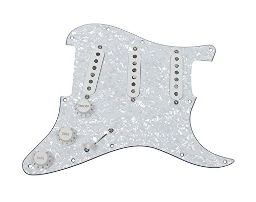 DiMarzio Area 58 Area 61- Lincoln Brewster Loaded Pickguard Prewired WP/WH