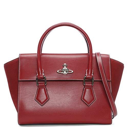 Vivienne sac rouge Rot Westwood cuir Rot rot Rabat moyen en de Matilda besace rgr5xw1A