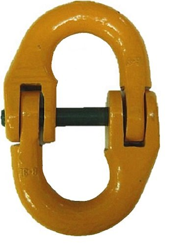 Classic G80 Chain Fittings,5//8 Size All Material Handling CLM16 Connecting Link Yellow