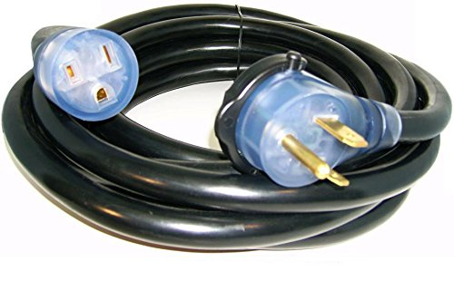 Kosmo Supply 50' 220 Volt 50 Amp Heavy Duty 8/3 Welder Extension Cord MIG TIG Plasma (Volt 50' Cord)