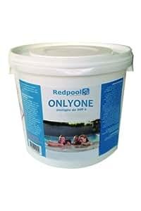 legnagoferr–Tricloro 5kg cloro multiazione Pastillas 200gr 4funciones Mantenimento Agua Piscina
