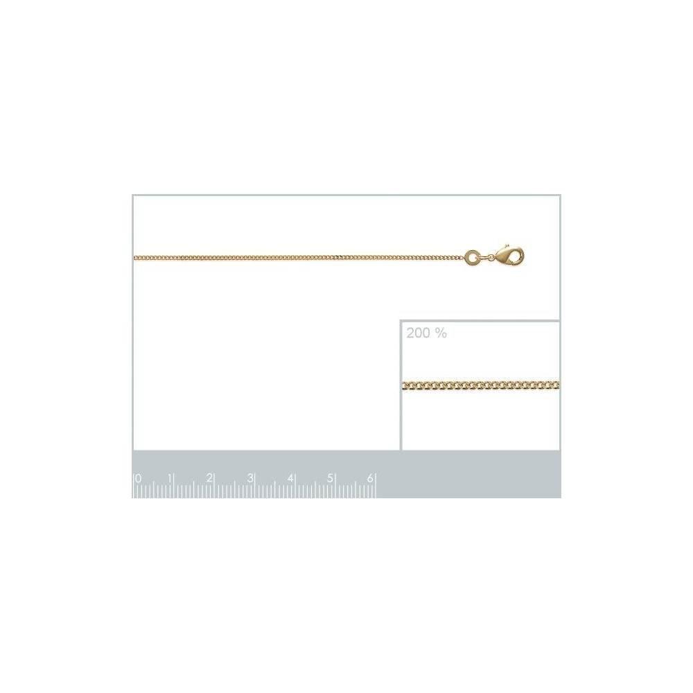 - Longueur 45 cm ISADY Cha/îne 18 carats Plaqu/é Or 750//000 Chainy Gold