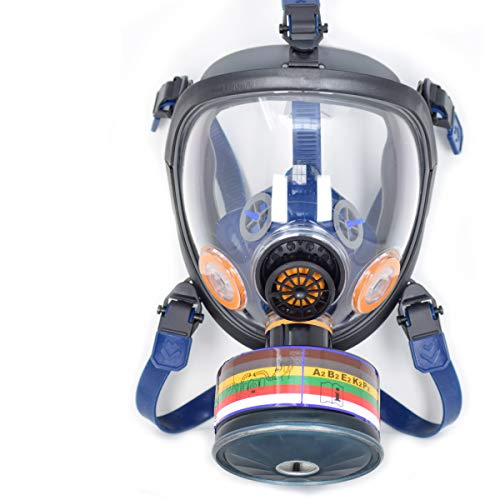 (NBC-101 Full Face Respirator Set (NBC-101 Full Face Respirator & N.B.C.F.)