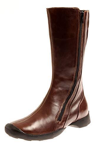 839464b5c117eb Wolky 6300 Drive Damen Stiefel Langschaft Boots Komfort Schuhe  Wechselfußbett Brown EU 37