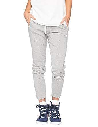 adidas Originals Women's Slim Track Pants, Medium Grey Heather, X-Small