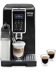 De'Longhi Dinamica Ecam 350.55.B Volautomatische Espressomachine, Met Melksysteem, Digitaal Display Met Duidelijke Tekst, 2-Kopjesfunctie, Zwart