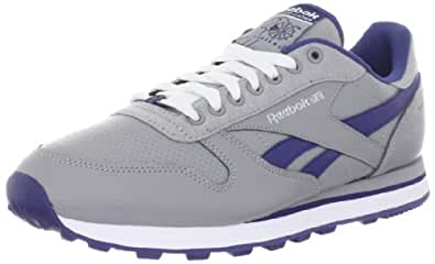 Reebok Men's Classic BRK SC Shoe,Railroad Grey/Club Blue/White/Silver,6.5 M US