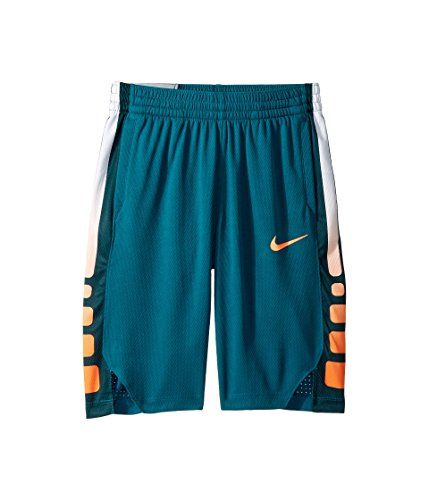 Nike Boy`s Lebron Hyper Elite Basketball Shorts (X-Large, Geode Teal/Cone/Cone)