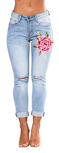 Bum Ladies Super Stretch Jeans (Blue) - 7