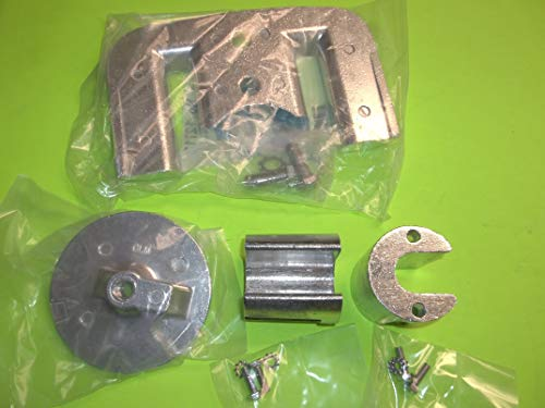 RPS-GLM Mercruiser Bravo II III outdrive Anode Kit 2 3 Aluminum Salt Water zinc Set 88+, Replaces 888761Q01