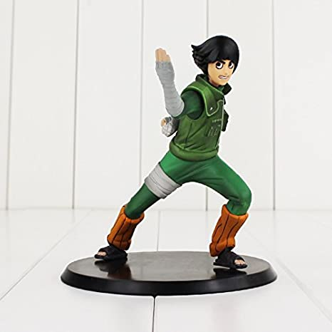 Amazon.com: Naruto Shippuden Figure Toy Rock Lee DX Six Inner Gates Opening 14cm Anime Collectible Model Doll: Toys & Games
