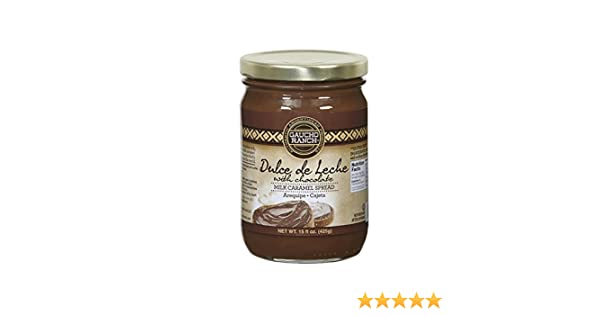 Amazon.com : DULCE DE LECHE WITH CHOCOLATE, SPREADABLE, 15OZ : Grocery & Gourmet Food