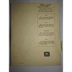 John Deere 55 Combine (s/n 57,001 & up) Parts