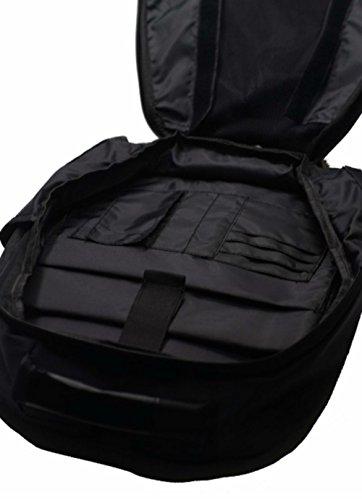 Marvel 3D Hardshell Backpack (Iron Man (LED Light)) by Mtime (Image #6)