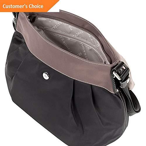 Sandover Lancaster Paris Nylon Tassel Traveler 2 Colors Shoulder Bag NEW   Model LGGG - 5753  