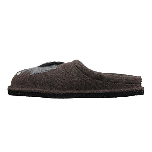 Pantofole HAFLINGER art. 31304463 braunmeliert Marrone