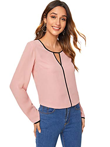 Kehen New Womens Casual Lace Sleeve Pullover Crop O-Neck T-Shirt Blouse Tops
