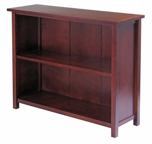 - Winsome Milan 3-Tier Wood Bookcase