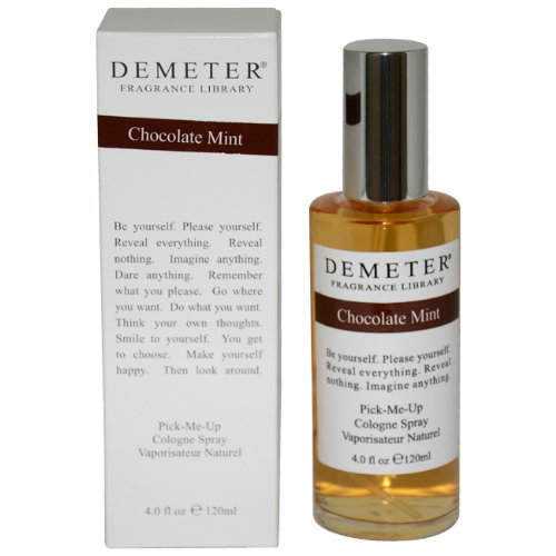 Demeter Chocolate Mint Unisex Cologne Spray, 4 Ounce (Spray Mint Cologne)