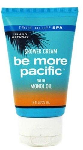 Monoi Shower (True Blue Spa Be More Pacific with Monoi Oil Shower Cream 2 Oz Travel Size)