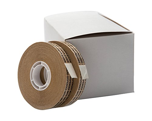 2 Rolls of ATG double sided Tape 1/2'' x 36 Yards by Golden State Art