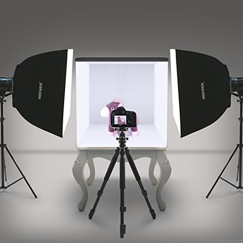 Neewer 20''x20''/50x50cm Table Top Photo Photography Light Tent Studio Square Light Box with 4 Backgrounds by Neewer (Image #3)