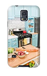 Top Quality Rugged Blue Cabinetry In Kitchen Case Cover For Galaxy S5