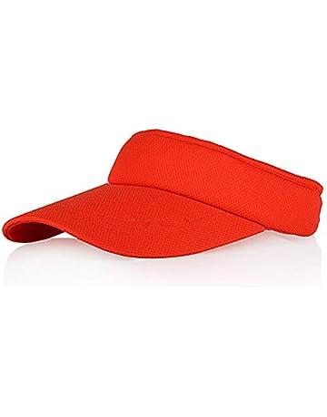 Clispeed Cappello Visiera Parasole Sportivo Regolabile in Rosa