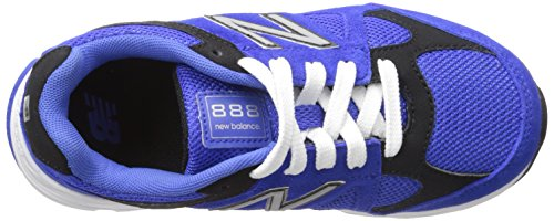 New Balance kj888 V1 Pre Zapatilla de Running (Little Kid) Azul/Negro