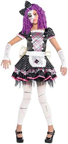 amscan - Disfraz para niña con diseño muñeca de porcelana, talla 8 ...