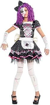 amscan - Disfraz para niña con diseño muñeca de porcelana, talla ...
