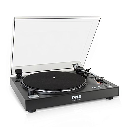 Pyle PLTTB1 Professional Belt-Drive Manual Turntable