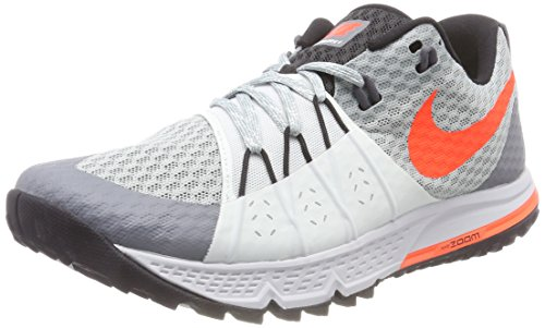 Nike Wildhorse Total Wmns Scarpe 4 Zoom Grey Black Light 004 Grigio Barely Air Crimson Donna Pumice Running rgrtS